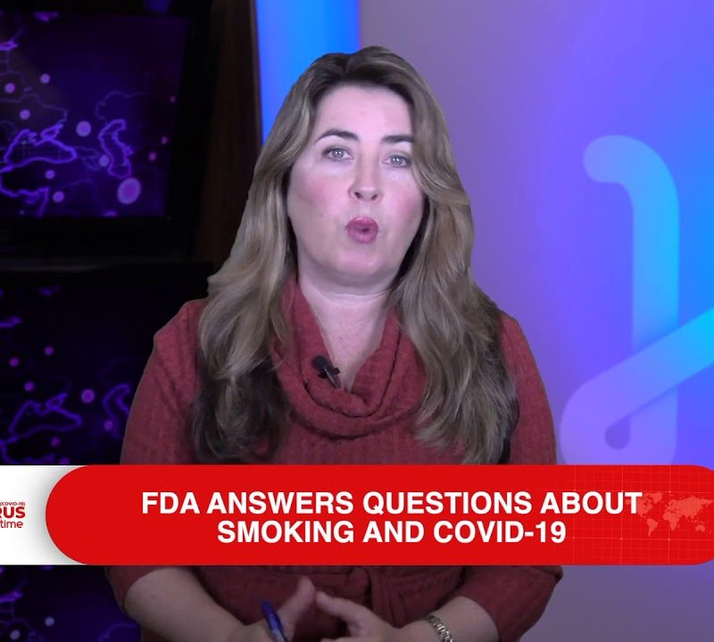 FDA answers Questions about Smoking and COVID-19