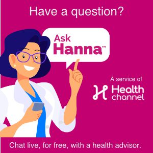 Ask Hanna | Chat for free with our health advisors