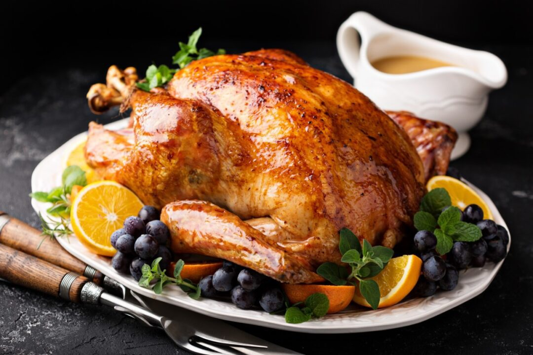 How do I keep food safe during holiday's cooking?