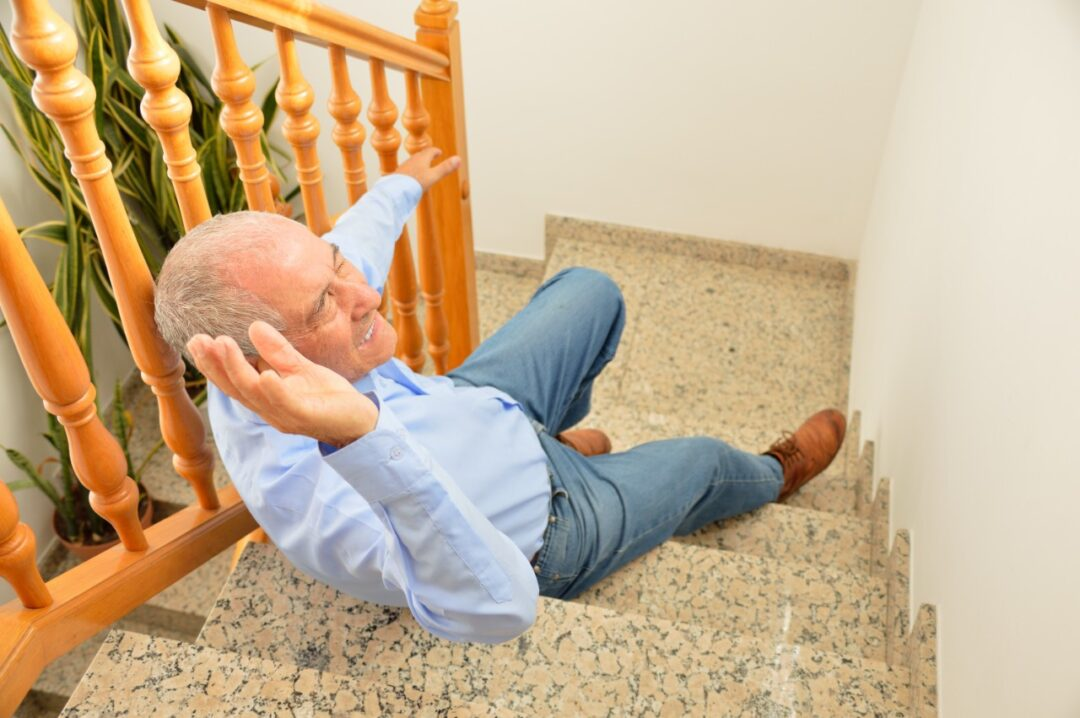 Why am I more at risk of falling as I get older?