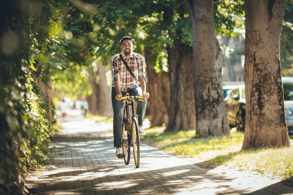 Are there any benefits to riding bike?
