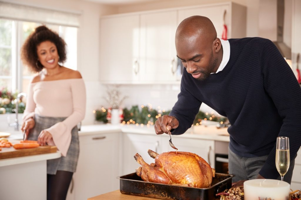 How can I control hunger during the holidays?
