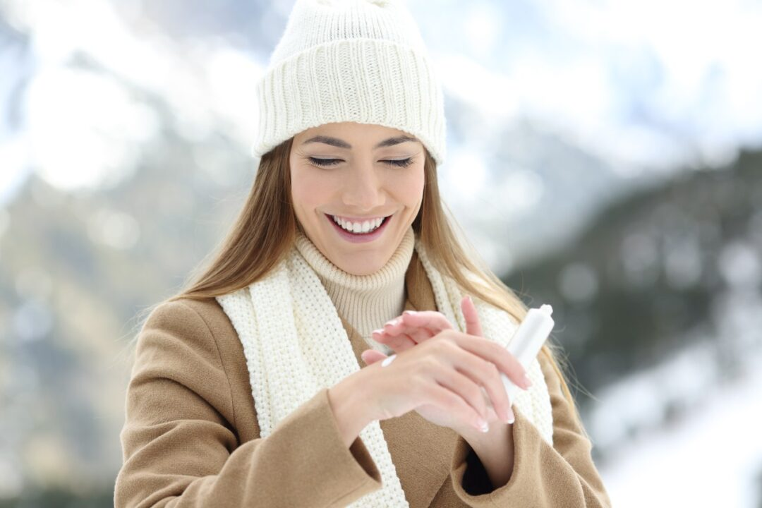 How do I keep my skin from getting dry in the winter?