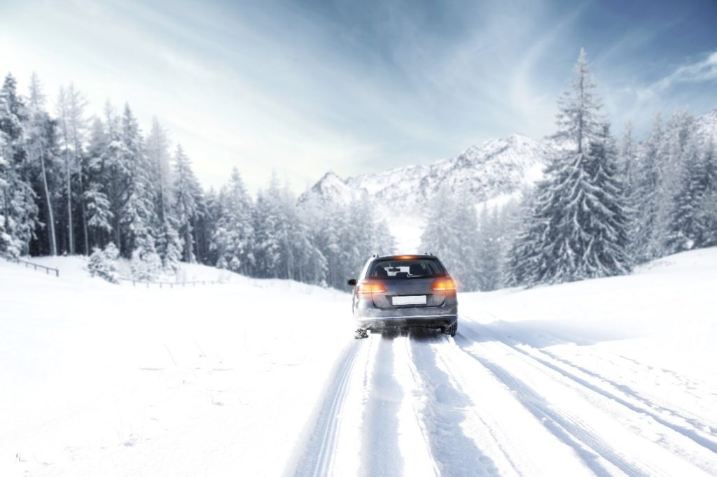 What are some tips for driving safely in inclement weather?