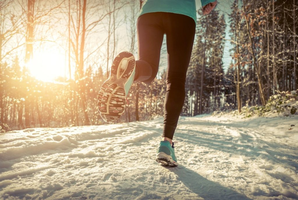 What are ways to stay active during the winter?