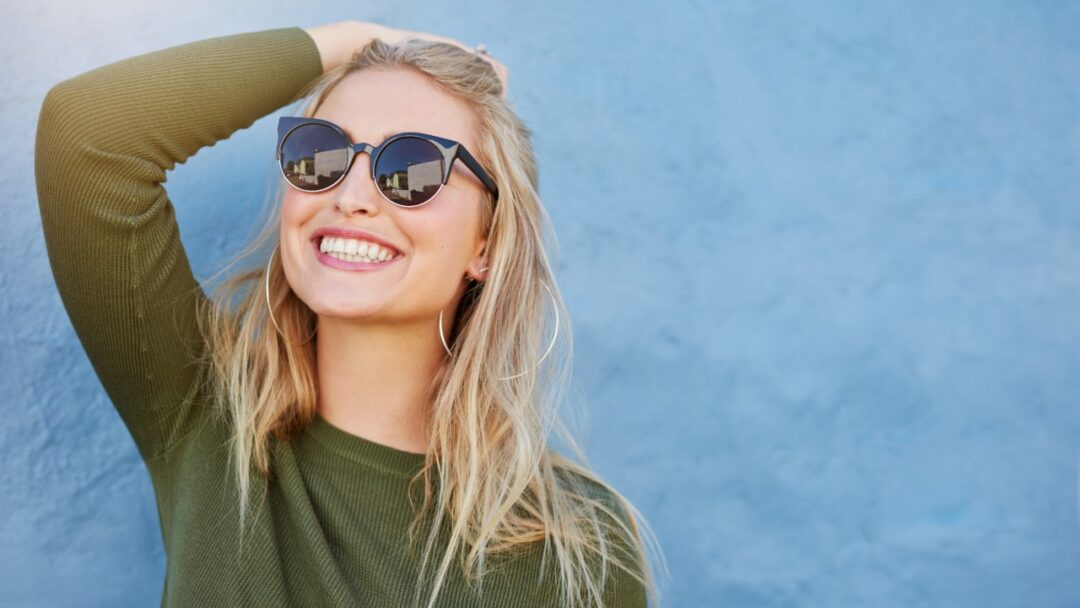 What should I look for in sunglasses for eye protection?