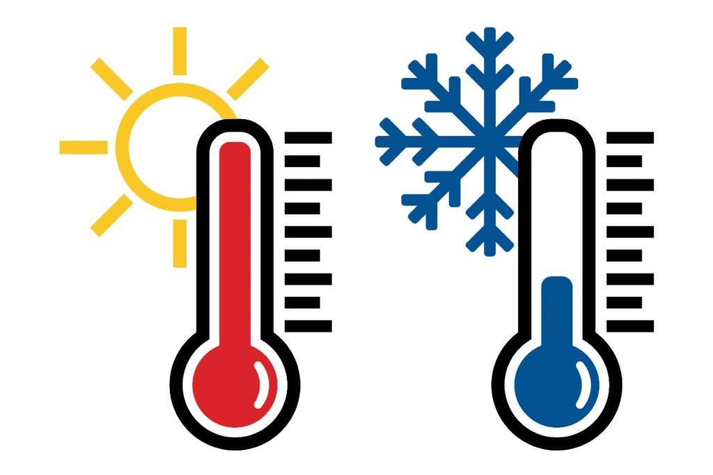 Why do temperature changes affect me as much?
