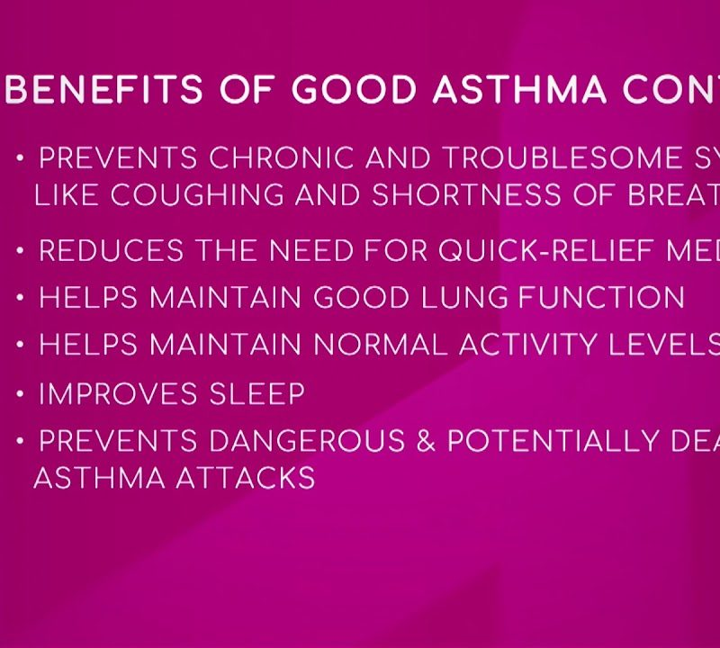 Benefits of Good Asthma Control