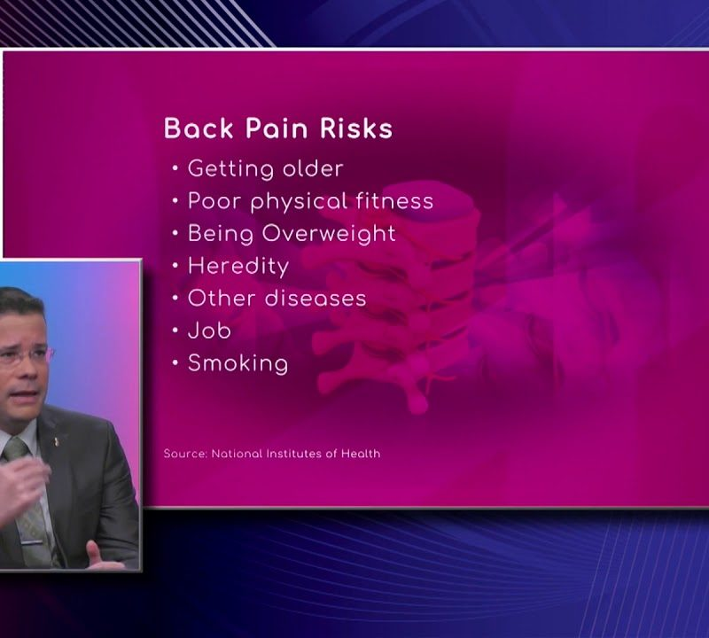 Low Back Pain Risk Factors