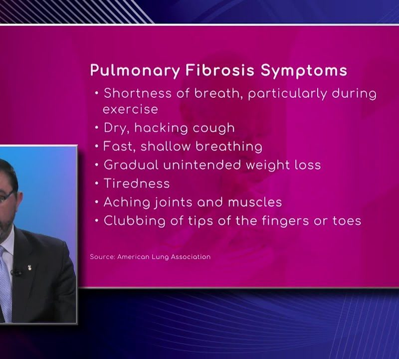 Symptoms of Pulmonary Fibrosis