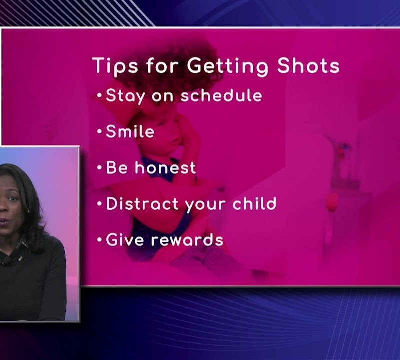 Kids: Tips for Getting Shots