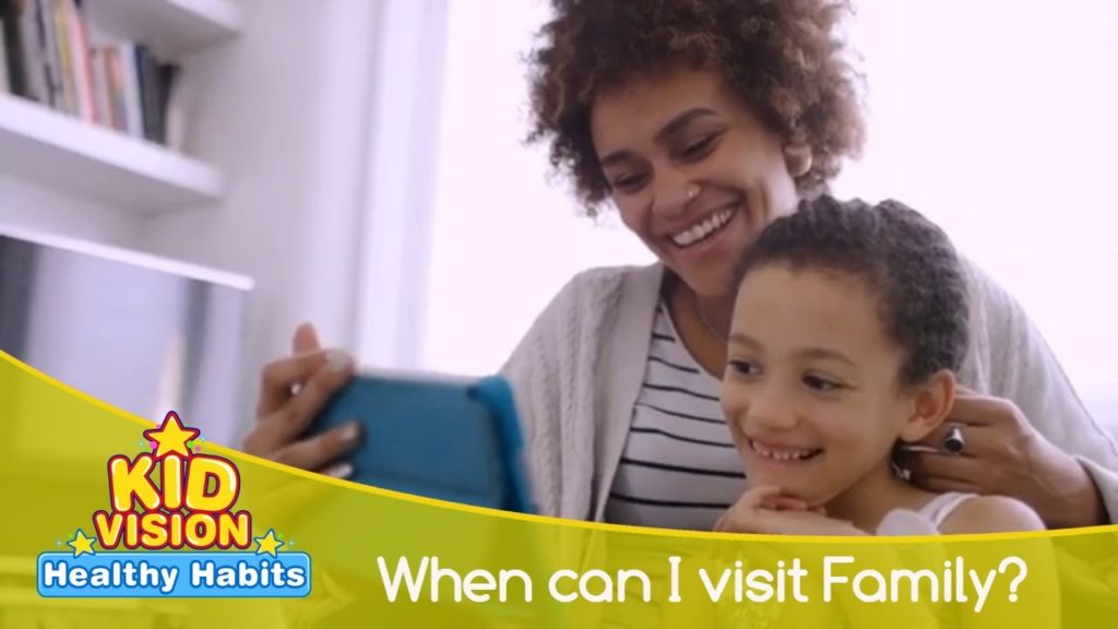 When can I visit family? | Healthy Habits | KidVision Pre-K