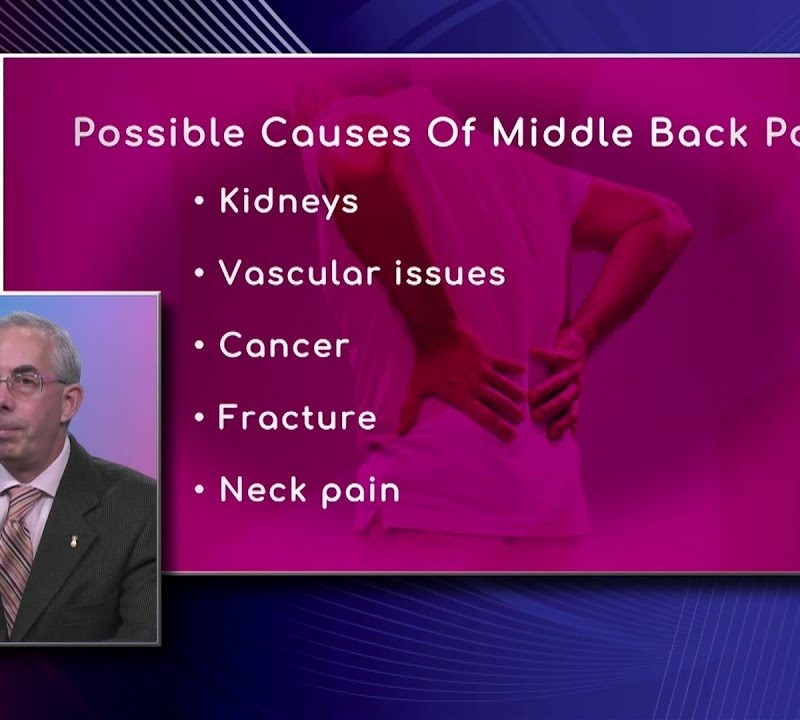 Causes of Middle Back Pain