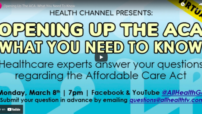 Opening Up The ACA- What You Need To Know